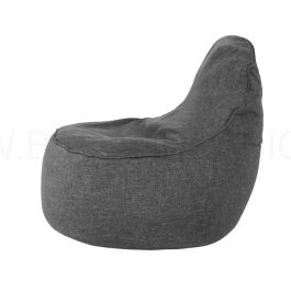 Ringo Bean Bag Sofa Grey Bedandbasics