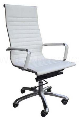 Eames Office Chair Leather Highback