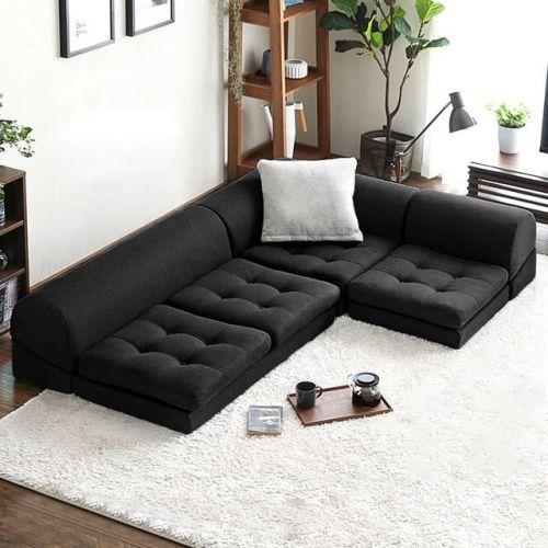 Frau Floor Sofa Bed | BedandBasics