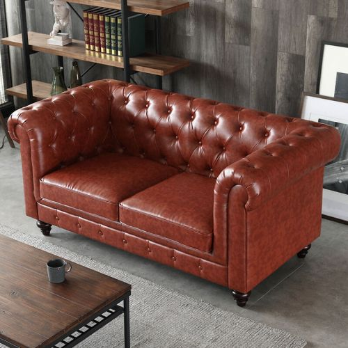 Hugo 2 Seater Chesterfield Sofa