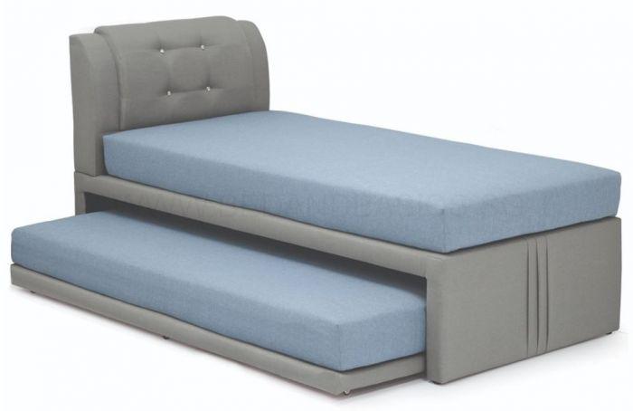 Mitsuki Fabric 3 In 1 Bed Frame Super