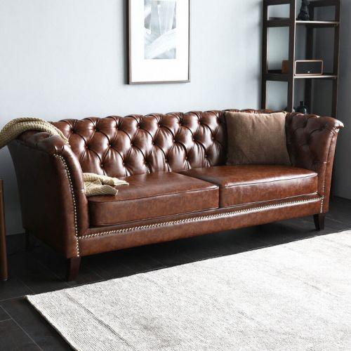 Neil Chesterfield Sofa Living Room