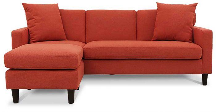 Lisbon L Shaped Fabric Sofa