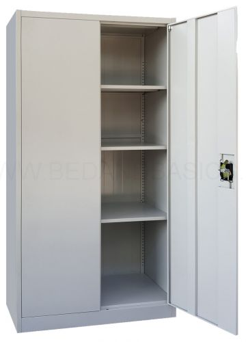 Keith M. Full Height Metal Cabinet (2 Door)