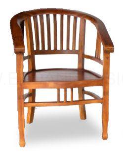 Miho Teak Wood Chair