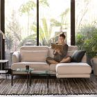 Ante 3 Seater Sofa with Ottoman