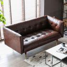 Frank Tuxedo Chesterfield 2 Seater Sofa