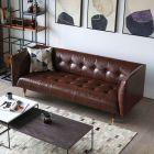 Frank Tuxedo Chesterfield 3 Seater Sofa