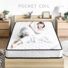 Modern Deco Pocket Coil Mattress (SG Size)