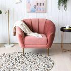 Quinn Velvet Armchair