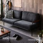 Sanctum Denim Fabric Sofa (3 Seater)