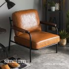 Sanctum Soft Leather Armchair (1 Seater)