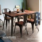 Sanctum Solid Wood Dining Table Only (4 Seater)