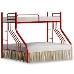Ann Metal Double Deck Bed
