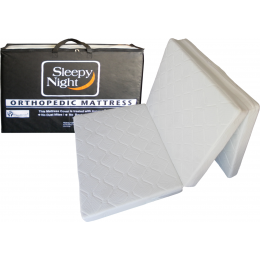 Sleepy Night Orthopaedic Foldable Mattress (Single)