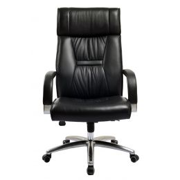 Solvor High Back Leather Office Chair