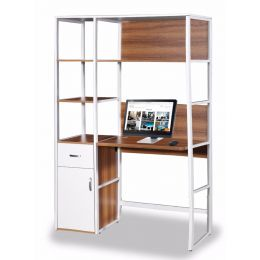 Adam Study Desk with Storage