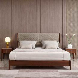 Adams Ash Wood Bed Frame (Ash Grey)
