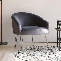 Aki Velvet Armchair