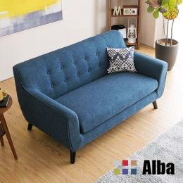 Alba 2 Seater Fabric Sofa