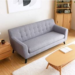 Alba 3 Seater Fabric Sofa