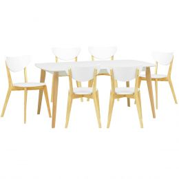 Arthur 1.5m Dining Table + 6 Dining Chair (1+6)