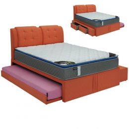 Ashbey Pull Out Bed Frame With Drawer
