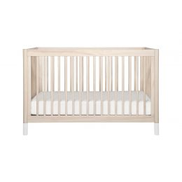 Gelato 3-in-1 Convertible Crib with Toddler Bed Conversion Kit (Washed)
