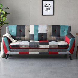 Continental 3 Seater Fabric Sofa