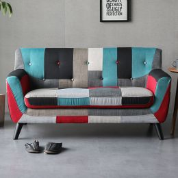 Continental 2 Seater Fabric Sofa