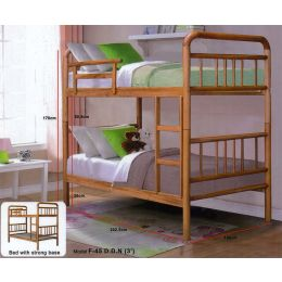 Craft Double Deck Wooden Bed