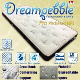 Dreampebble Pro Pocketed Mattress