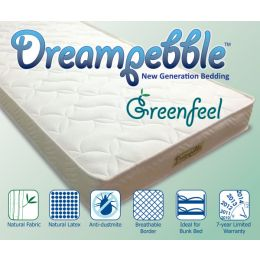 Dreampebble GreenFeel Mattress (4 inch)