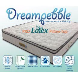 Dreampebble Pro Latex Pillow-Top Non-Flip Mattress