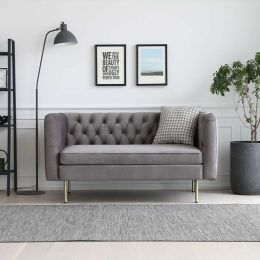 Elias Chesterfield 2 Seater Sofa