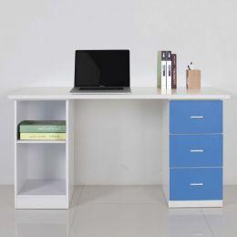 Even Desk with Shelf II
