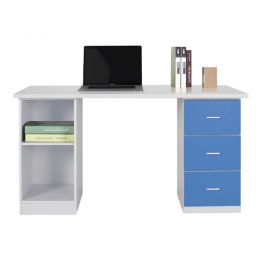 Even Desk with Shelf II