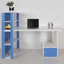Even Desk with Shelf