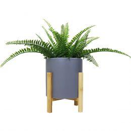 Faye Flowerpot with Bamboo Leg