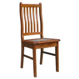 Lois Solid Wood with Marble Top Dining Chair 02