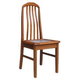 Lois Solid Wood with Marble Top Dining Chair 04