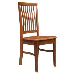 Lois Solid Wood Dining Chair 01
