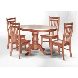 Lois Natural Marble Dining Set 003
