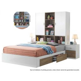 Franzer Bed Frame (Queen Size)