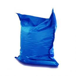 Giant Pillow Bean Bag [Blue]