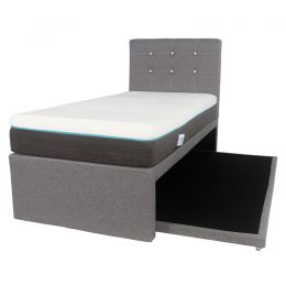 Hadley 2-in-1 Fabric Bed Frame