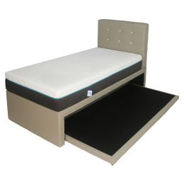 Hadley 2-in-1 Faux Leather Bed Frame