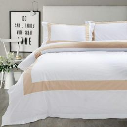 Hotelier Prestigio Luxury White Base Champagne Border Bundle