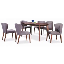 Lisa Dining Table Set (1+6)