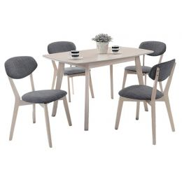 Carlos Dining Set II (1+4)